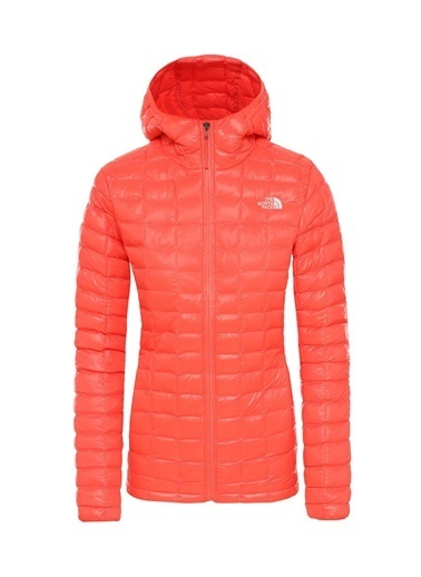The North Face Kadın Mont Eco Thermoball Hoodie Nf0A3Ygnca11 Oranj